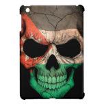 Jordanian Flag Skull iPad Mini Case