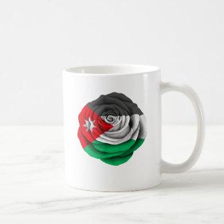 Jordanian Rose Flag Coffee Mug