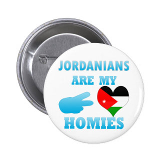 Jordanians are my Homies 2 Inch Round Button