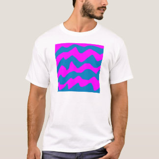 jordans blue pink paint T-Shirt