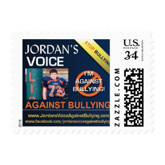 Jordan's Voice Against Bullying Stamps