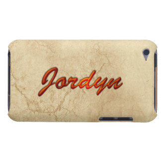 JORDYN Name Branded iPod Touch Case