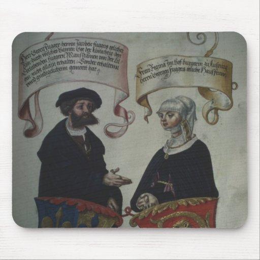 Jorge Fugger su esposa Regina Imhoff, 'Geheim Tapete De Ratones