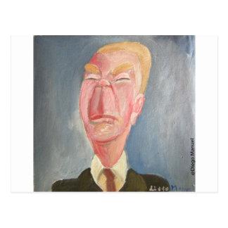 Jorge Luis Borges Postcard