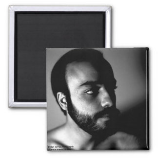 Jorge Shadow 2 Inch Square Magnet