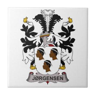 Jorgensen Family Crest Tile