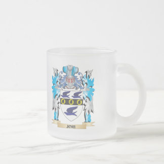 Jori Coat of Arms - Family Crest 10 Oz Frosted Glass Coffee Mug