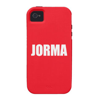Jorma iPhone 4 Cover