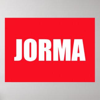 Jorma Posters
