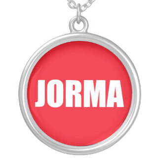 Jorma Silver Plated Necklace