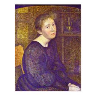 Jorte Lemmen: Retrato de Mme Lemmen Tarjetas Postales