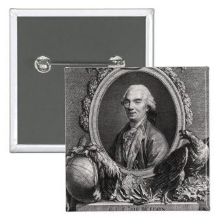 Jorte-Louis Leclerc Comte de Buffon Pin Cuadrado