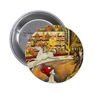 Jorte Seurat - Der Zirkus - circo Pins