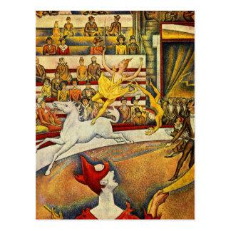 Jorte Seurat - Der Zirkus - circo Postal