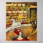 Jorte Seurat - Der Zirkus - poster del circo