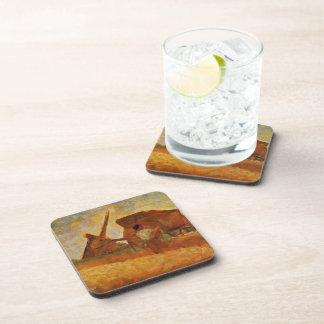 Jorte Seurat- los trituradores de piedra Posavasos De Bebida