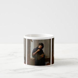 José Almeida Jr - Saudade (Longing) (1899) 6 Oz Ceramic Espresso Cup