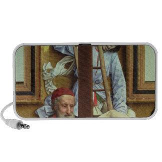 José de Arimathea que apoya al Cristo muerto iPod Altavoces