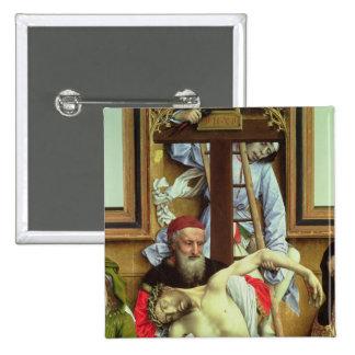 José de Arimathea que apoya al Cristo muerto Pins