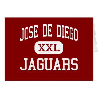 Jose De Diego - Jaguars - Middle - Miami Florida Greeting Card