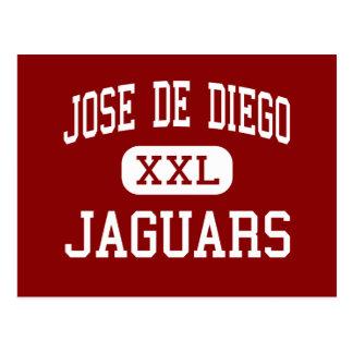 Jose De Diego - Jaguars - Middle - Miami Florida Postcard