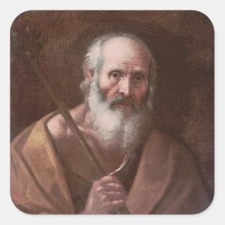 José de Nazaret Pegatina Cuadrada