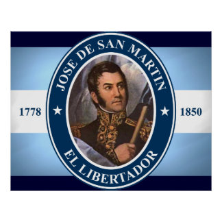 Jose de San Martin Poster