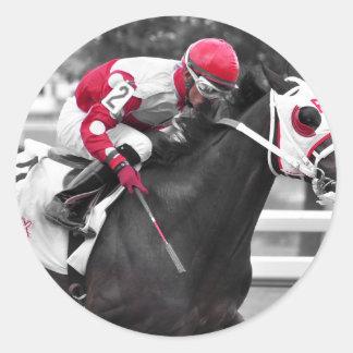 Jose Flores Classic Round Sticker