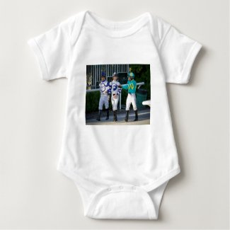 Jose, Irad and Manny Franco Baby Bodysuit