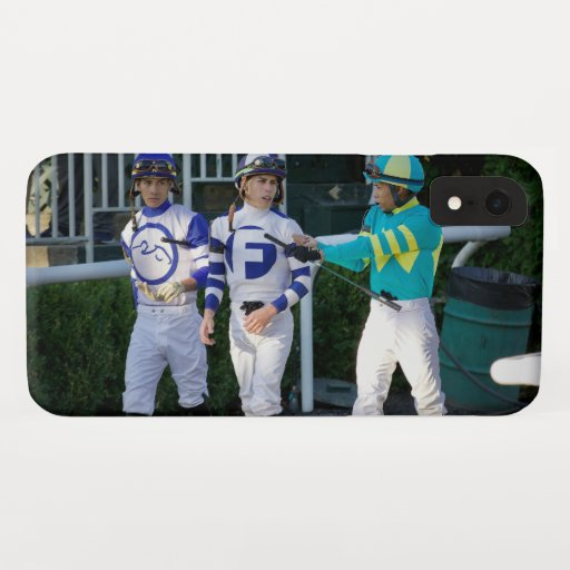 Jose, Irad and Manny Franco iPhone XR Case