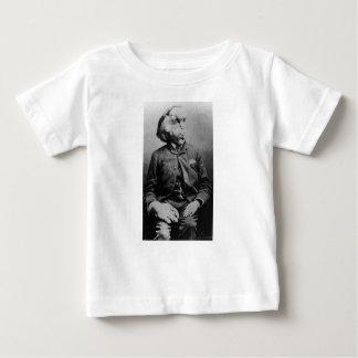 """José """"Juan"""" Merrick Elephant Man a partir de 1889 Playera De Bebé"""
