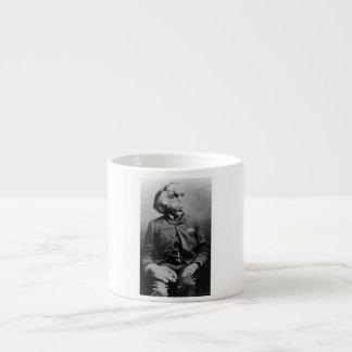 """José """"Juan"""" Merrick Elephant Man a partir de 1889 Taza Espresso"""