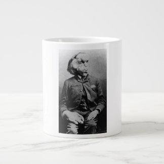 """José """"Juan"""" Merrick Elephant Man a partir de 1889 Taza Grande"""