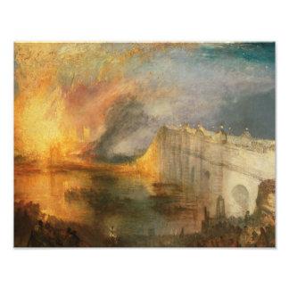 José Mallord Guillermo Turner - el Burning del Fotografía