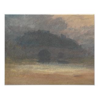 José Mallord Guillermo Turner - paisaje de la Cojinete