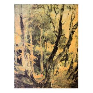 José Mallord Turner - maderas de abedul con los gi Postal