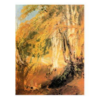 José Mallord Turner - maderas de haya con los gita Postal