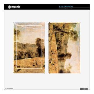 José Mallord Turner - parque de Cassiobury - cosec Kindle Fire Skins
