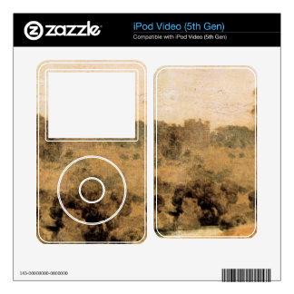 José Mallord Turner - parque de Cassiobury - cosec Skins Para iPod Video