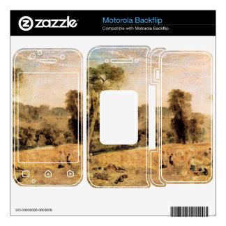 José Mallord Turner - parque de Cassiobury - cosec Motorola Backflip Skins