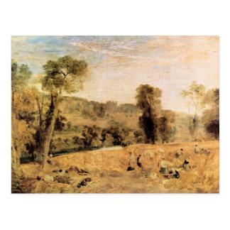 José Mallord Turner - parque de Cassiobury - cosec Postales
