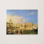 José Mallord Turner - puente de suspiros - Venecia Puzzles