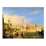 José Mallord Turner - puente de suspiros - Venecia Postales
