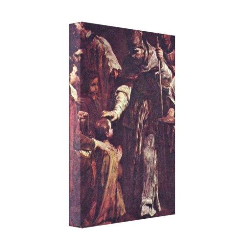José Maria Crespi - los siete sacramentos Lienzo Envuelto Para Galerias