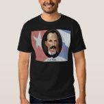 Jose Marti en bandera cubana Playera