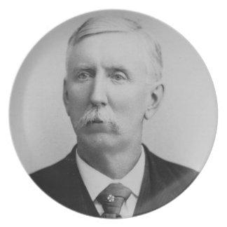 José McCoy (1837-1915) (foto de b/w) Plato