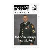 Jose Moran Postage Stamp