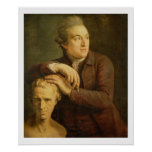 José Nollekens (1737-1823) con su busto de Laur Impresiones