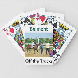 Jose Ortiz Off the Tracks Bicycle Playing Cards