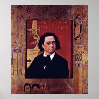 José Pembauer de Gustavo Klimt Poster